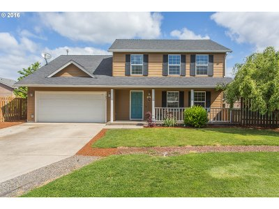 Stayton Single Family Home Sold: 1021 Western Ct