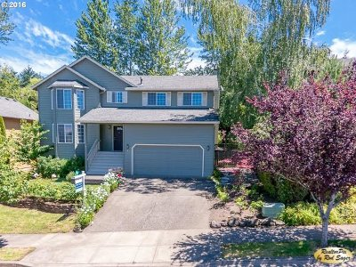 Camas WA Single Family Home Sold: $350,000