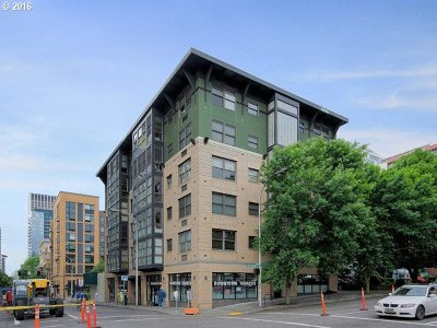 Condo/Townhouse Sold: 1134 SW Jefferson St #508