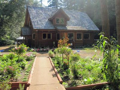 Brookings Single Family Home For Sale: 1720 Winchuck River Rd
