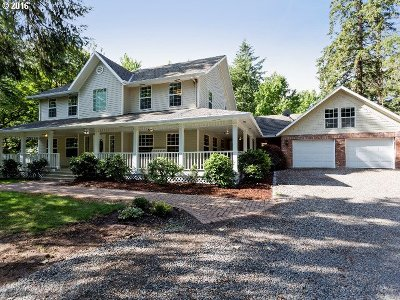 Woodburn Single Family Home Sold: 8362 Carson Ct