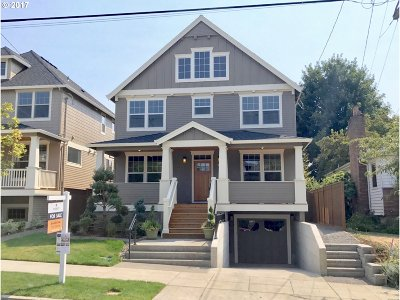Single Family Home For Sale: 2930 SE Kelly St