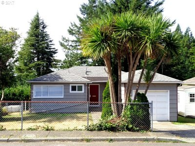 Coos Bay Single Family Home For Sale: 1671 N 16th