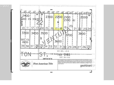 Residential Lots & Land Sold: 11824 SE Stark St