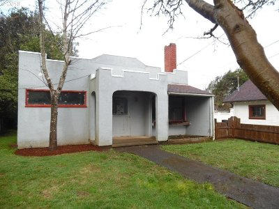 Coos Bay Single Family Home For Sale: 1060 Ingersoll