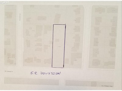 Portland Residential Lots & Land For Sale: 11411 SE Division St