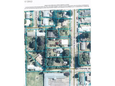 Residential Lots & Land For Sale: 8028 SE 62nd Ave