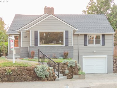 Single Family Home For Sale: 417 SE 52nd Ave