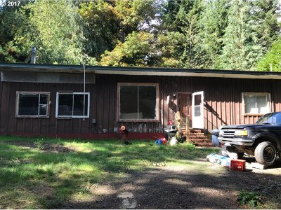 Coos Bay Single Family Home For Sale: 62344 Olive Barber Rd