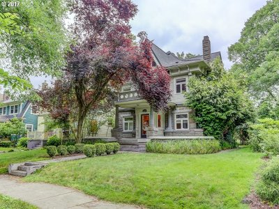 Portland Single Family Home For Sale: 1628 SE Ladd Ave #B