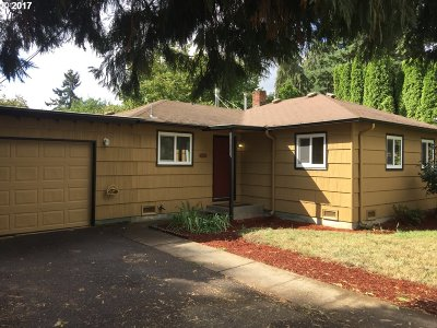 Eugene Single Family Home For Sale: 1280 Beebe Ln