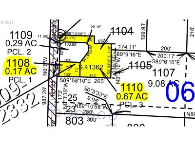 Junction City, Harrisburg Residential Lots & Land For Sale: Pitney Ln