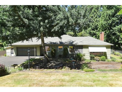Portland Single Family Home For Sale: 10145 NW Leahy Rd