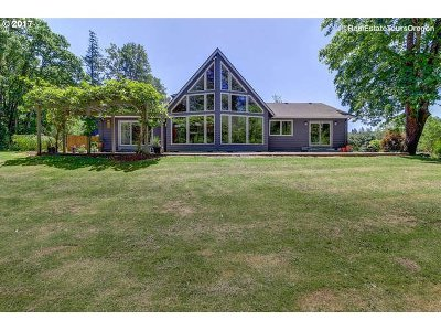 Mulino Single Family Home For Sale: 16193 S Union Mills Rd