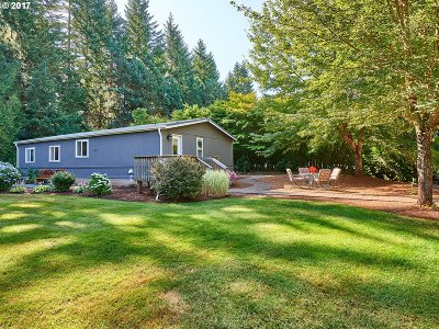 Single Family Home Sold: 35211 SE Surface Rd