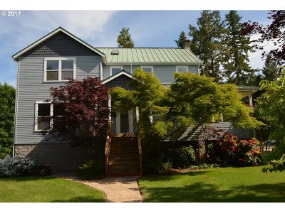 Single Family Home For Sale: 31360 Camas Swale Rd
