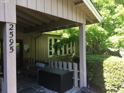 Eugene Single Family Home For Sale: 2595 W 22nd Ave