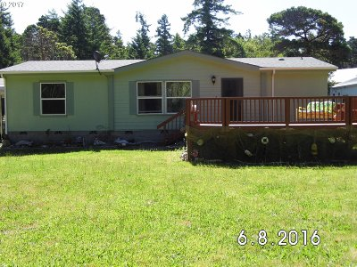 Bandon Single Family Home For Sale: 87478 Mastel Ln