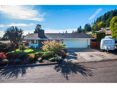 Single Family Home For Sale: 32858 Ridge Dr