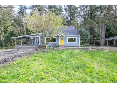 Aurora Single Family Home Sold: 26271 NE Butteville Rd