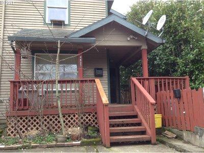 Portland Single Family Home For Sale: 4837 NE Cleveland Ave