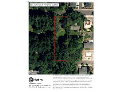 Portland Residential Lots & Land For Sale: 9400 SW Taylor St