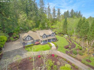 Lake Oswego Single Family Home For Sale: 13571 Goodall Rd