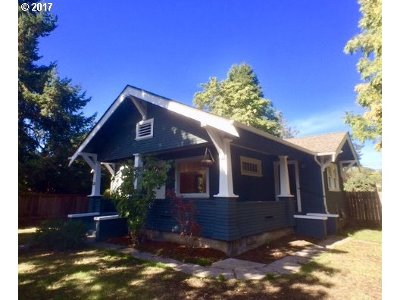 Eugene OR Single Family Home For Sale: $275,000