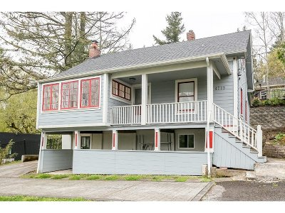 Portland Single Family Home For Sale: 4703 SW Patton Rd