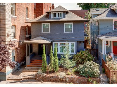 Single Family Home For Sale: 218 NW 22nd Pl