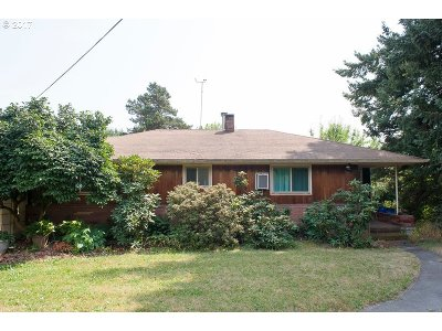 Portland Single Family Home For Sale: 10040 NW Cornell Rd