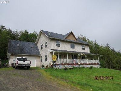 Clatskanie Single Family Home For Sale: 79319 Charity Ln
