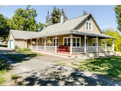 Cottage Grove Single Family Home For Sale: 78770 Adams Rd