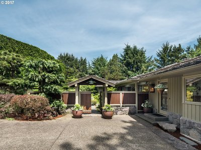 , Portland, West Linn, Lake Oswego Single Family Home For Sale: 4318 SW Fairview Circus