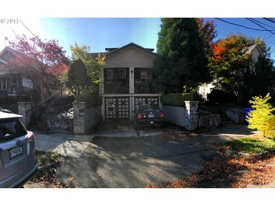 Clackamas County, Multnomah County, Washington County Multi Family Home For Sale: 8120 N Jersey St