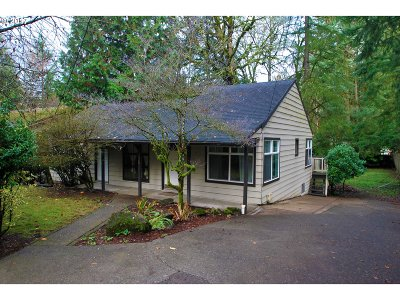 Lake Oswego Single Family Home For Sale: 3351 Fir Ridge Rd