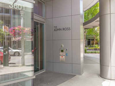South Waterfront Atwater Place, South Waterfront/John Ross Condo/Townhouse For Sale: 3601 SW River Pkwy #2408