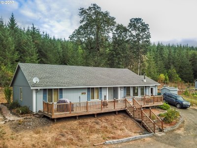 Gaston Single Family Home For Sale: 56133 SW Sain Creek Rd