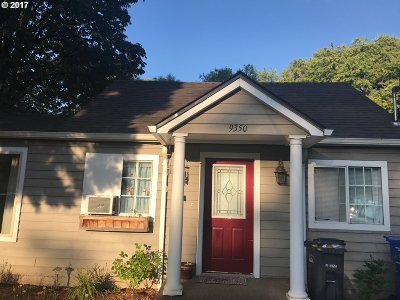 Salem Single Family Home For Sale: 9350 Charity Ave