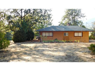 Canyonville OR Single Family Home For Sale: $95,000