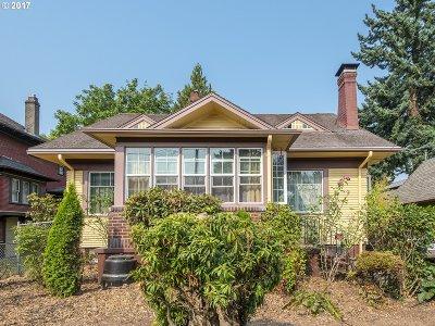 Portland Single Family Home For Sale: 4815 NE 8th Ave