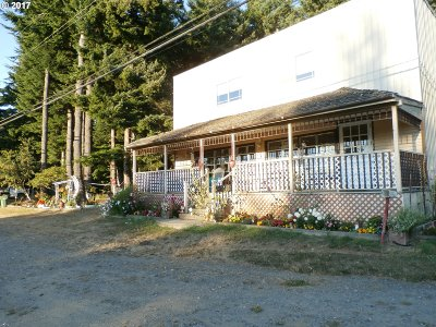 Port Orford Multi Family Home Bumpable Buyer: 42969 Hwy 101