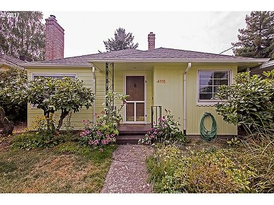 Single Family Home For Sale: 4115 NE 69th Ave
