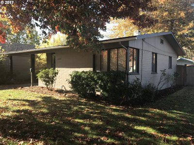 Eugene Single Family Home For Sale: 2804 Alder St