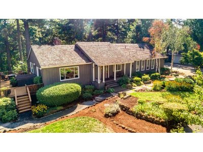 Multnomah County, Clackamas County, Washington County Single Family Home For Sale: 29080 SW Petes Mountain Rd