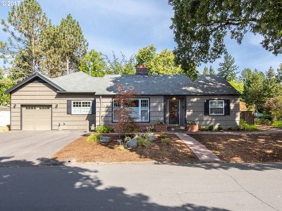 Beaverton Single Family Home Bumpable Buyer: 12225 SW Greenwood St
