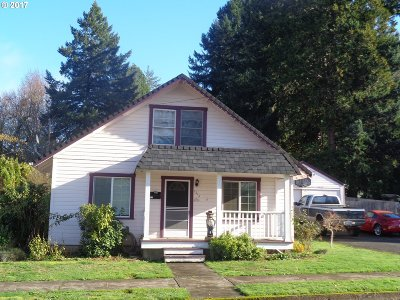 Cottage Grove, Creswell Single Family Home For Sale: 1214 S 8th St