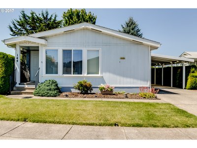 Eugene Single Family Home For Sale: 3355 N Delta Hwy Space 144