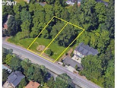 Portland Residential Lots & Land For Sale: 4831 SW Beaverton Hillsdale Hwy