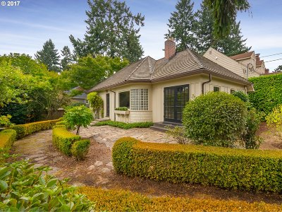 Lake Oswego Single Family Home For Sale: 108 Ridgeway Rd